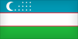 Flag of Usbekistan